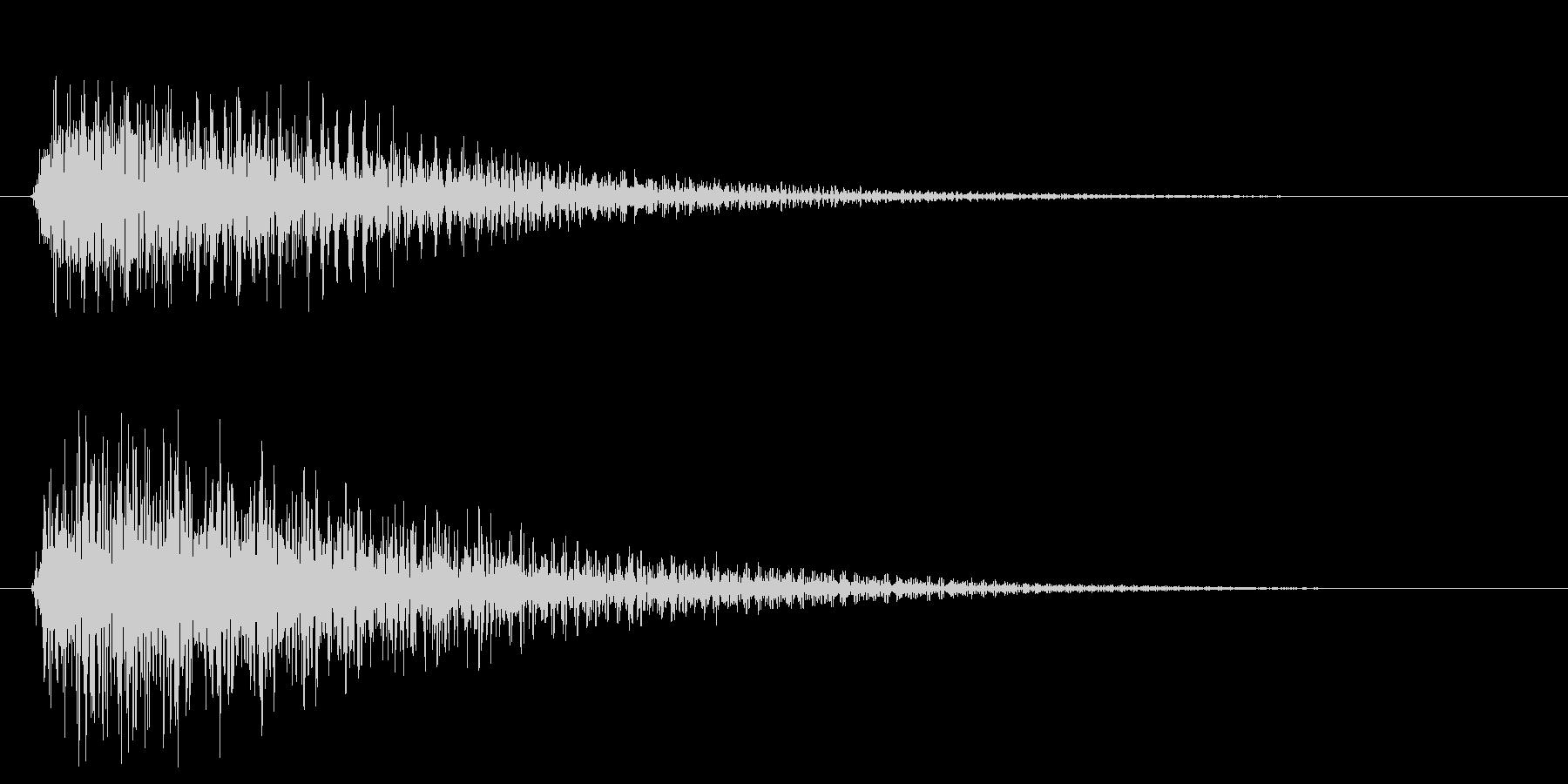 トゥンーの未再生の波形