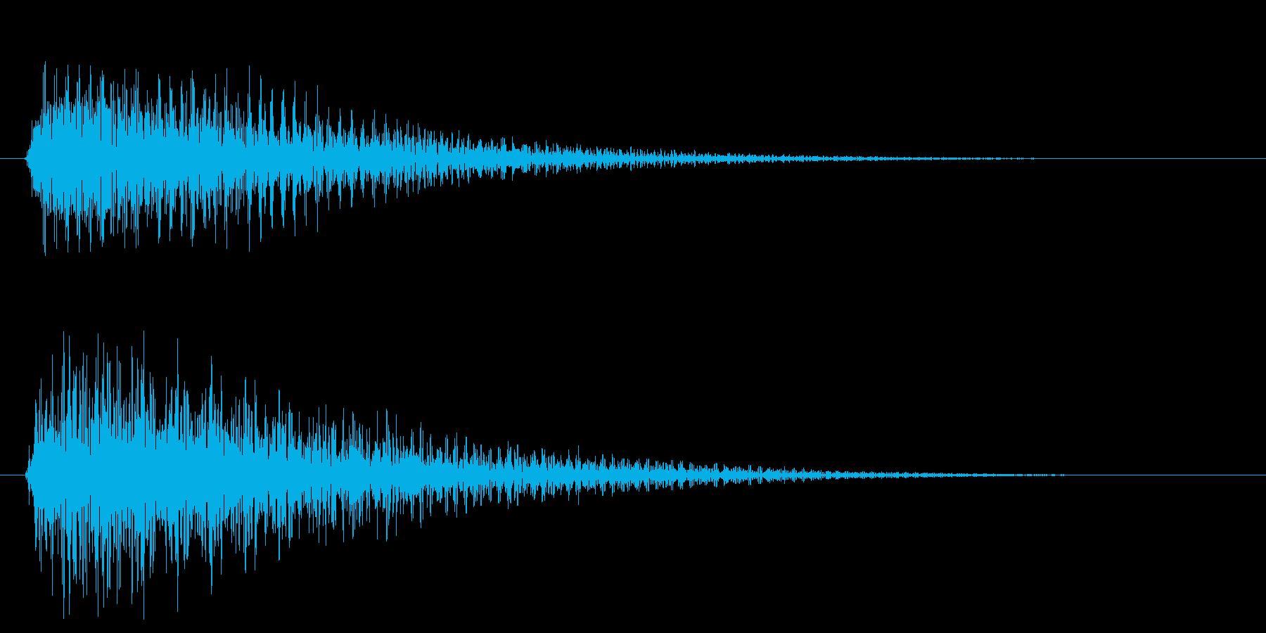 トゥンーの再生済みの波形