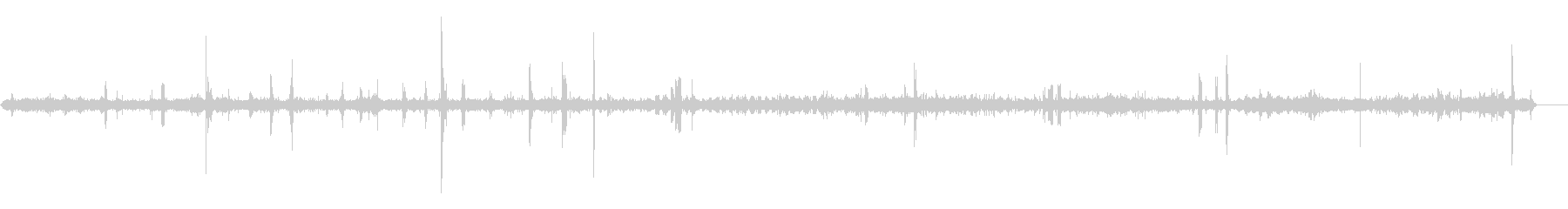 鳥2の未再生の波形