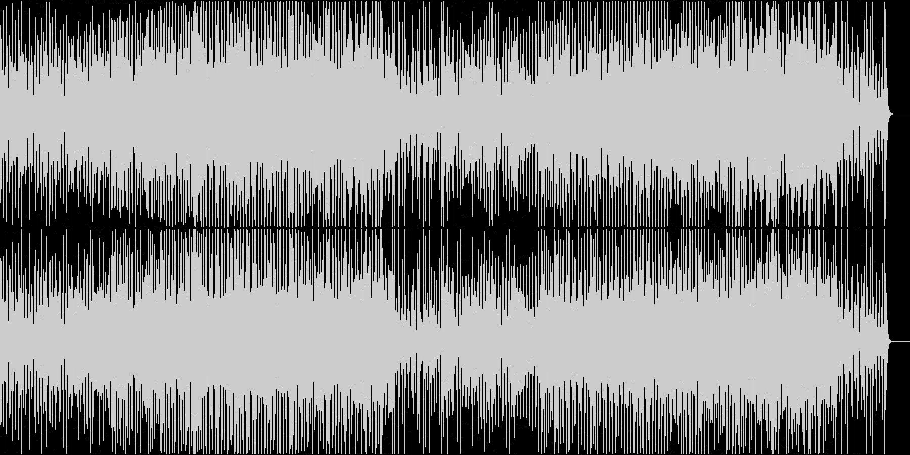 にこにこ ほのぼの かわいいポップの未再生の波形
