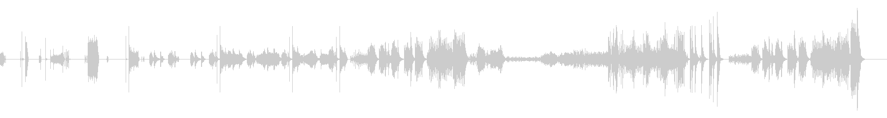 オーボエ・弦・打楽器・ピアノの七重奏の未再生の波形