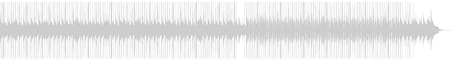 (生音)極上ピアノのJAZZYビートの未再生の波形
