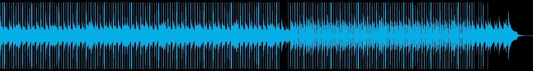 (生音)極上ピアノのJAZZYビートの再生済みの波形