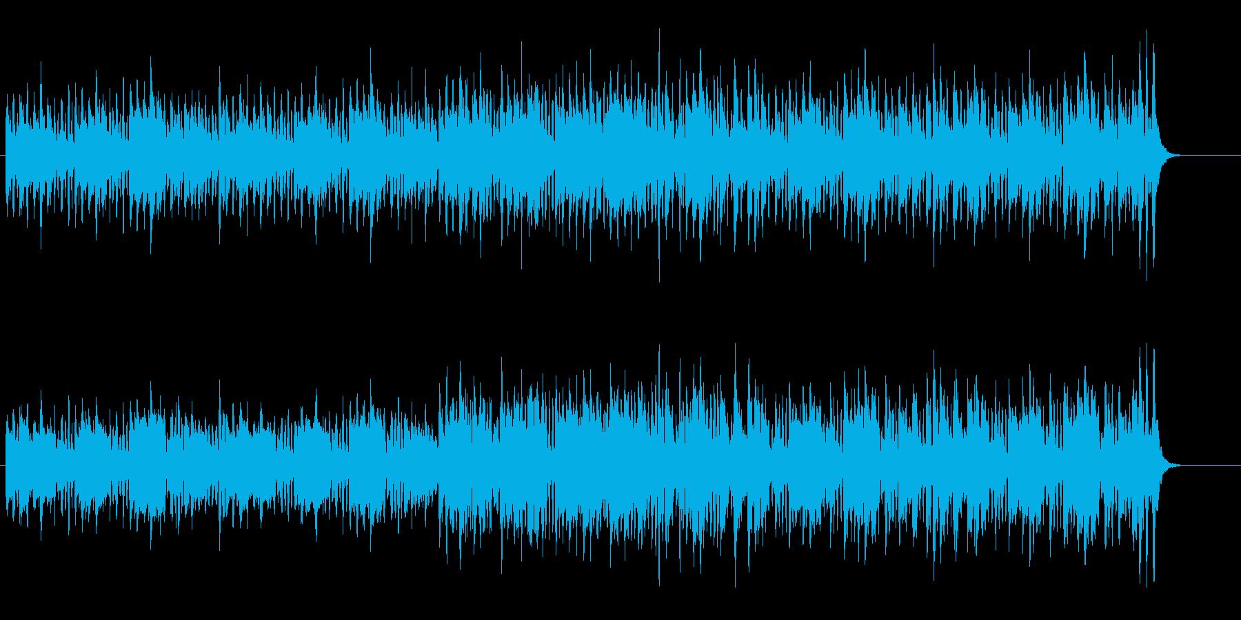 サーカスを告げる古風なマーチ・サウンドの再生済みの波形
