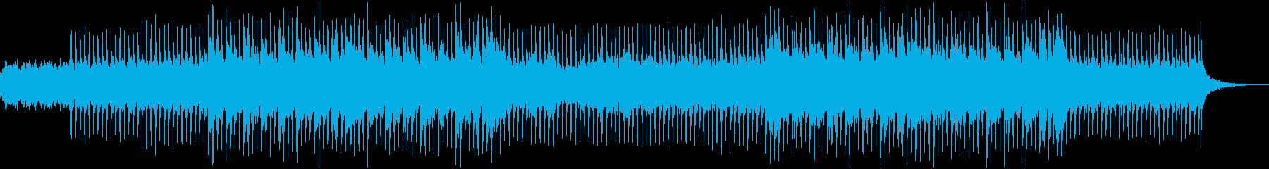 クライマックスへ向かう緊迫感のエレクトロの再生済みの波形