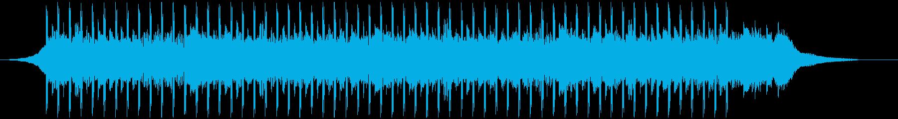 コーポレートビデオ(ショート)の再生済みの波形