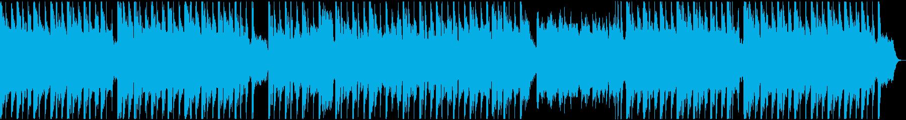 元気で明るいパレードのような三拍子の曲の再生済みの波形
