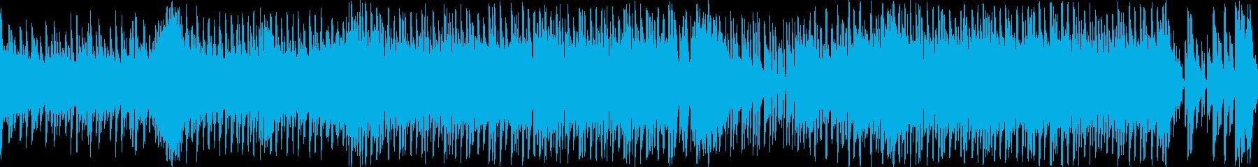 コミカルでシンプルな曲調のチップチューンの再生済みの波形