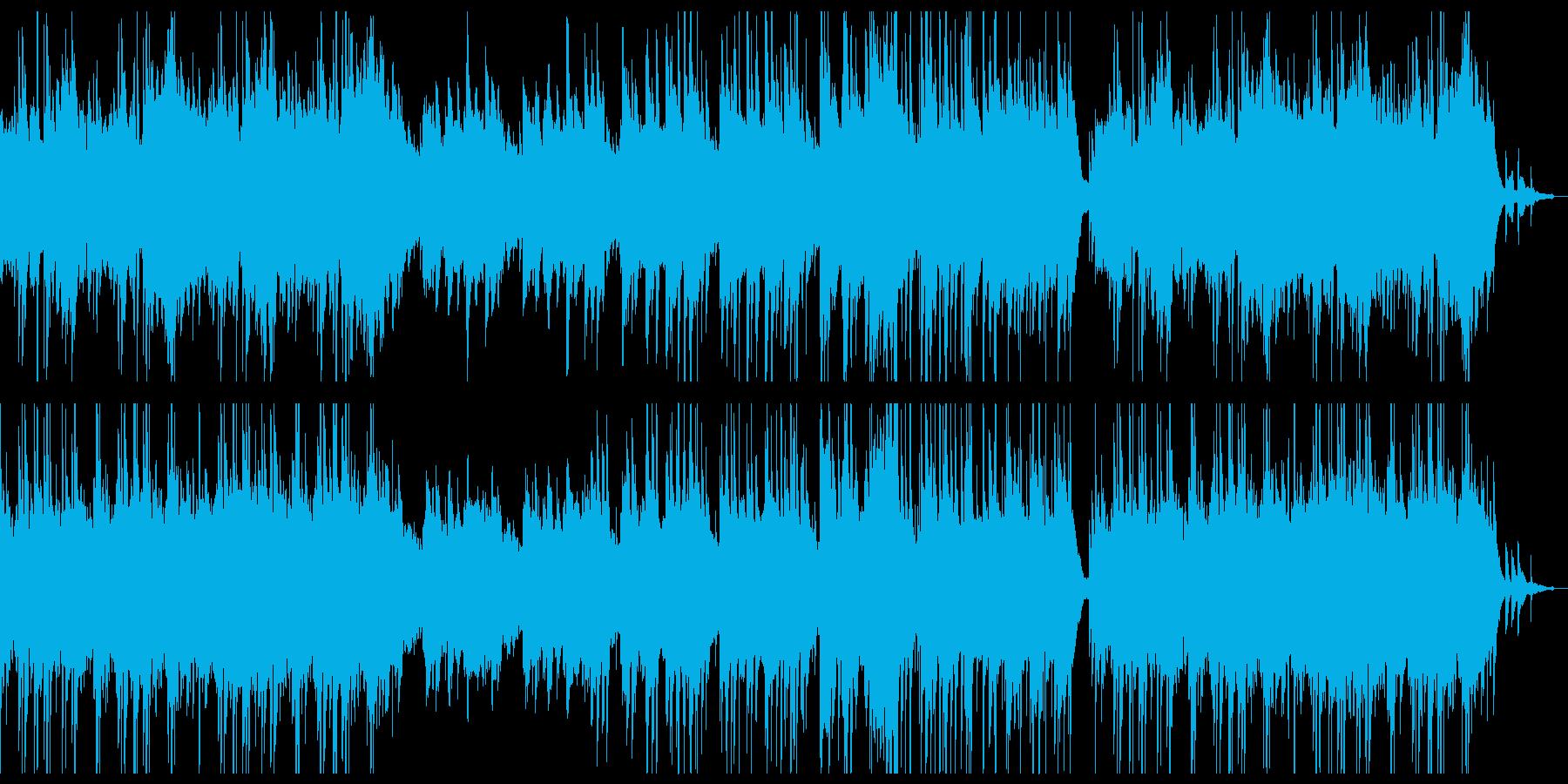 ゆったり穏やかなチルアウトシンフォ。の再生済みの波形