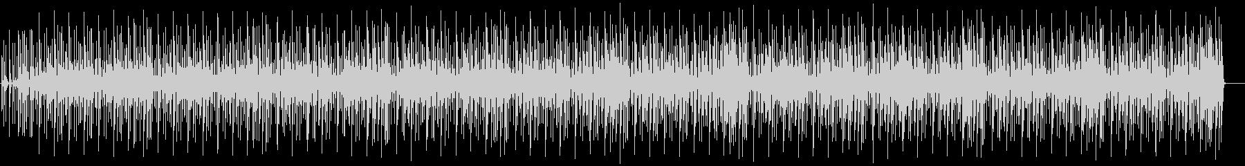 サックスとブラスでファンキーなBGMの未再生の波形