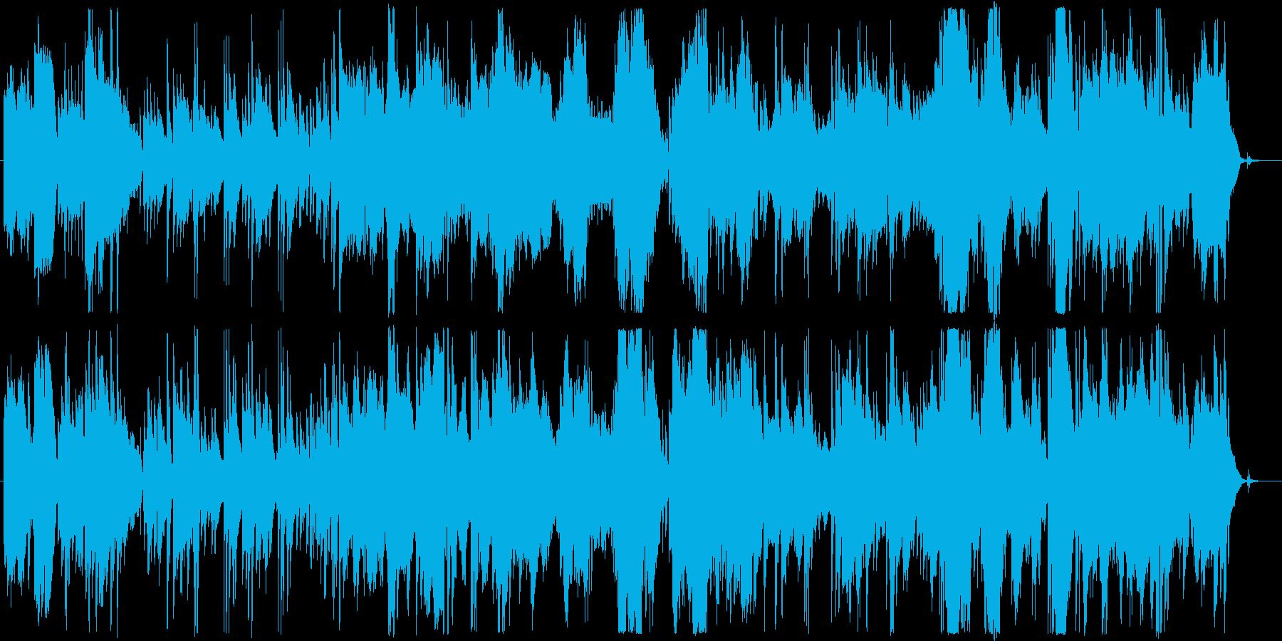 物語の導入部に最適なギターデュオの序奏の再生済みの波形