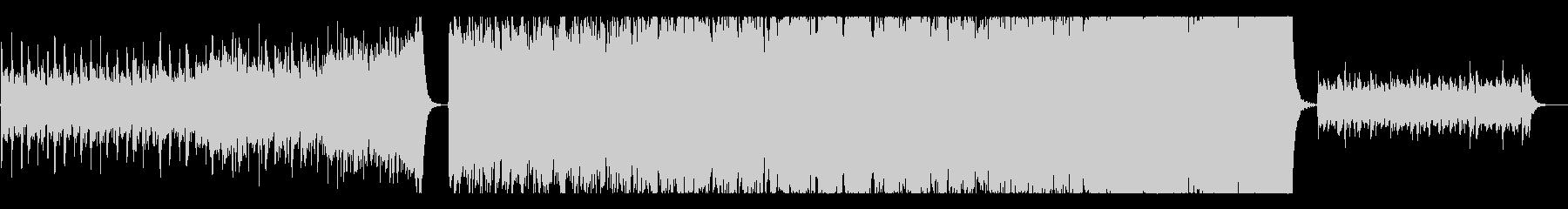 エピック/激しい勇ましい系オーケストラの未再生の波形