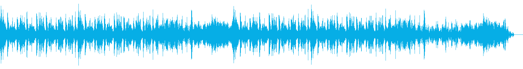 Surprise が飛び出すイメージ曲の再生済みの波形