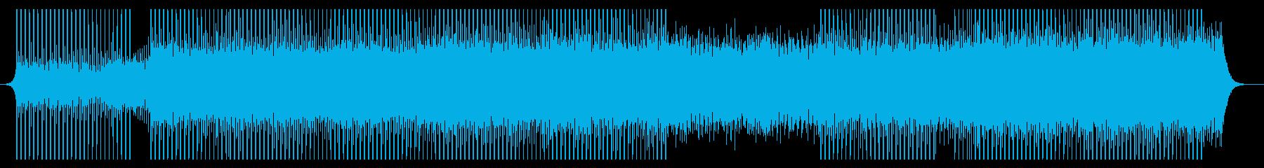 ワーキングの再生済みの波形