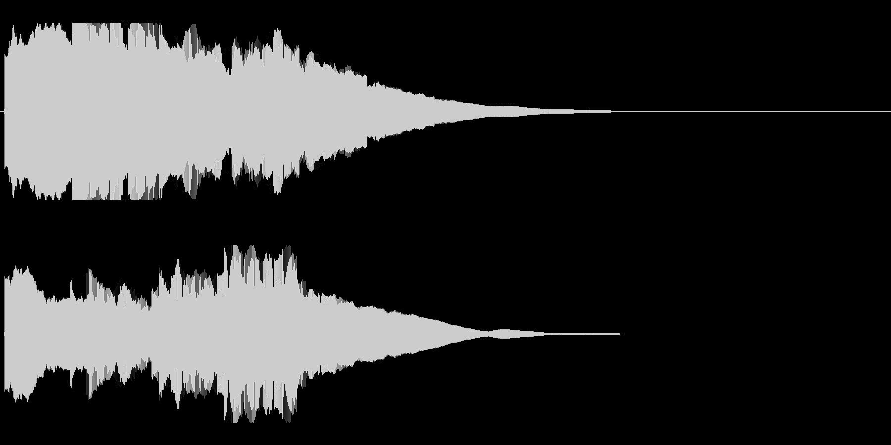 アナウンス前 チャイム-2_rev-2の未再生の波形