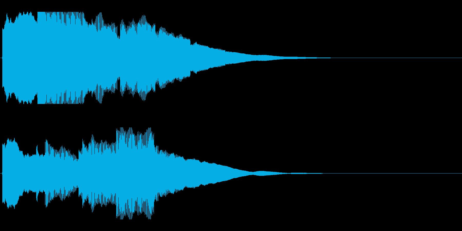 アナウンス前 チャイム-2_rev-2の再生済みの波形
