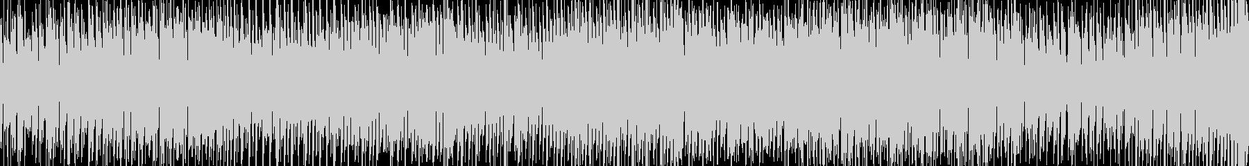 疾走感のあるEDM・ループ・ボイス・軽快の未再生の波形