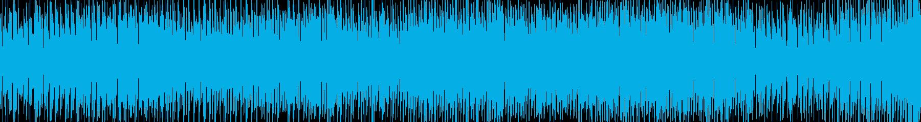 疾走感のあるEDM・ループ・ボイス・軽快の再生済みの波形