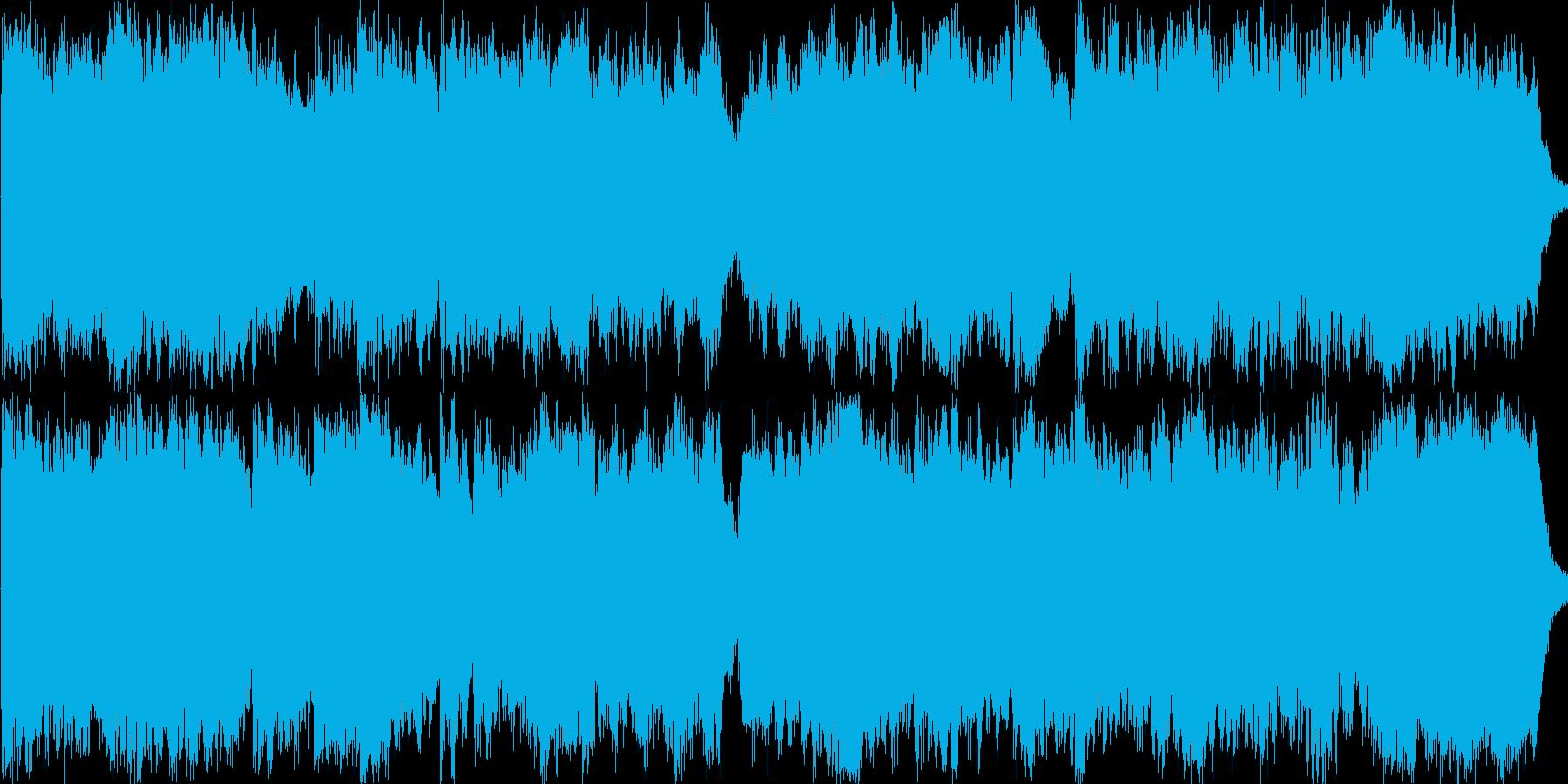表彰式やトロフィー授与などで使えるBGMの再生済みの波形