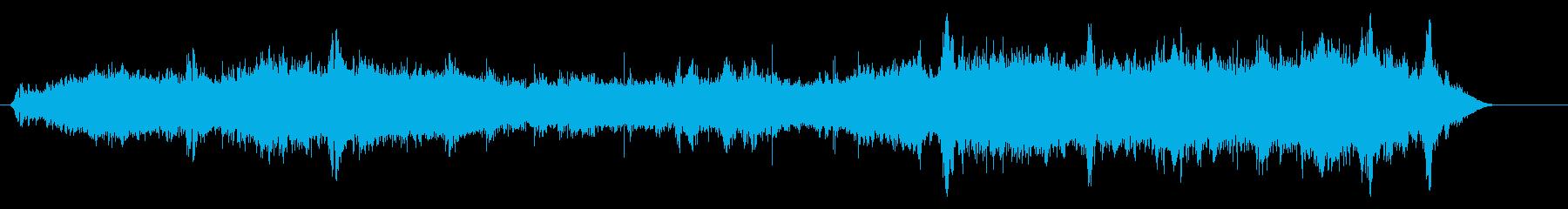 スモールウェーブビーチの再生済みの波形