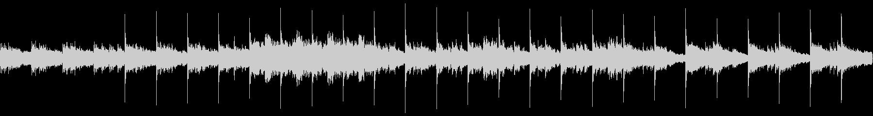 ゲームBGM想定曲(ホラー、暗め)の未再生の波形