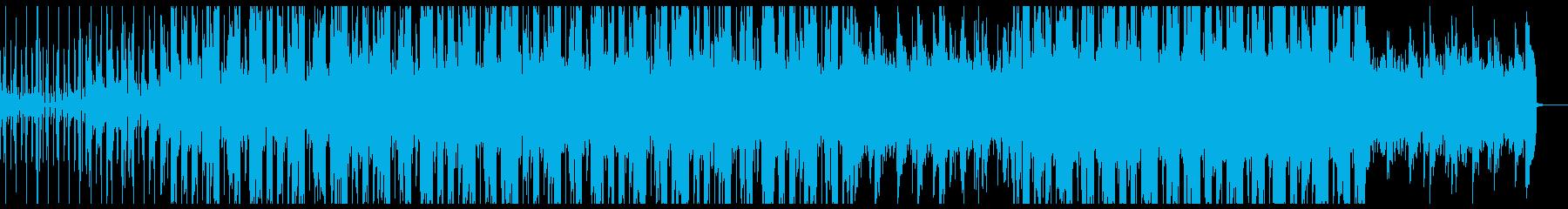 ベースの音色がおしゃれなチルポップ♪の再生済みの波形