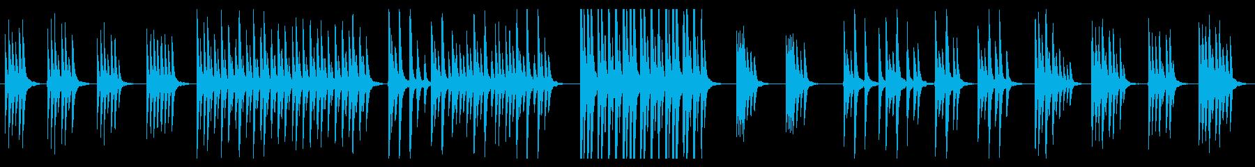 不思議と場面になじむ便利な民族楽器曲。の再生済みの波形