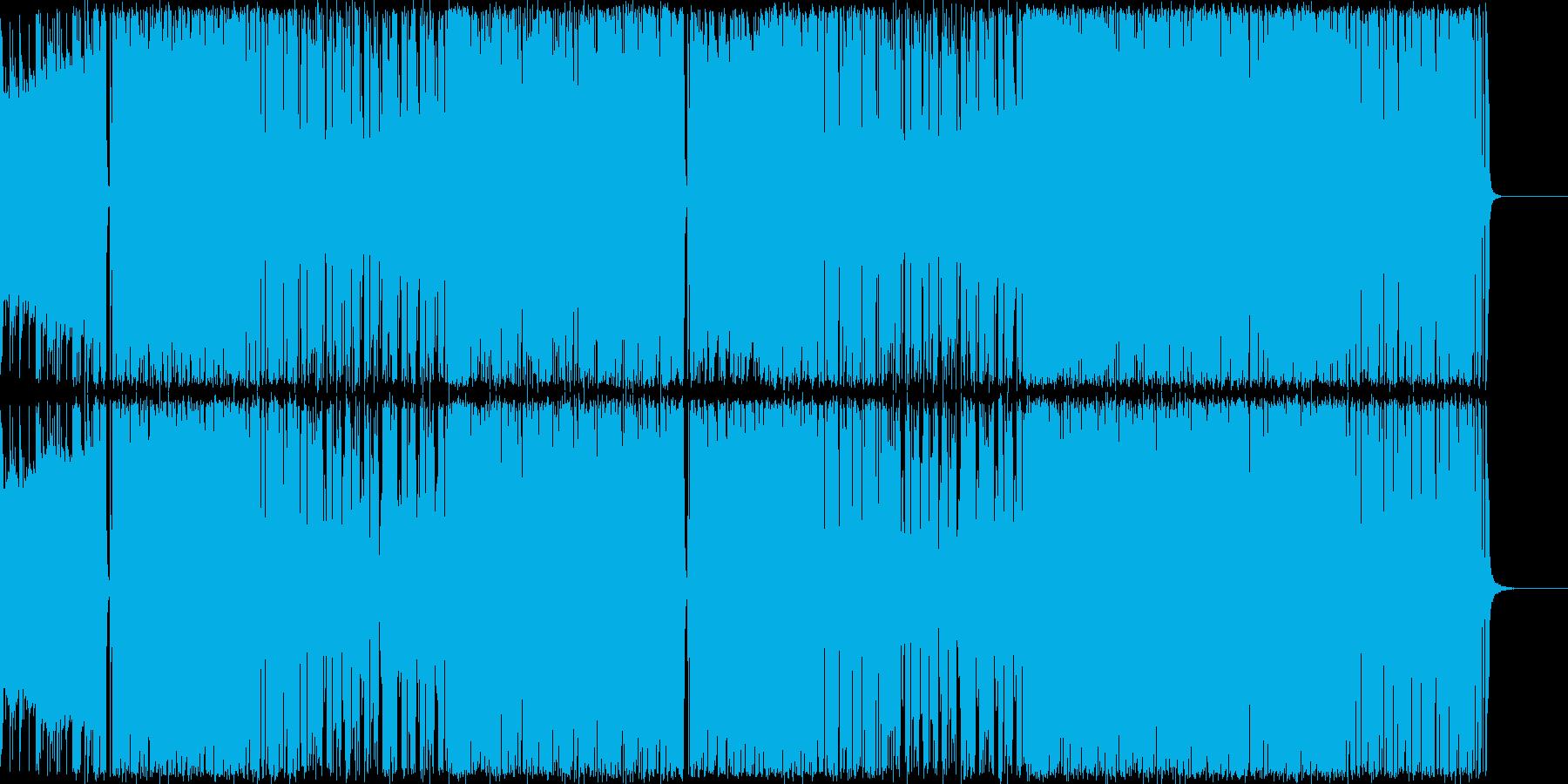 """アップテンポでクールなジャズです。""""キ…の再生済みの波形"""