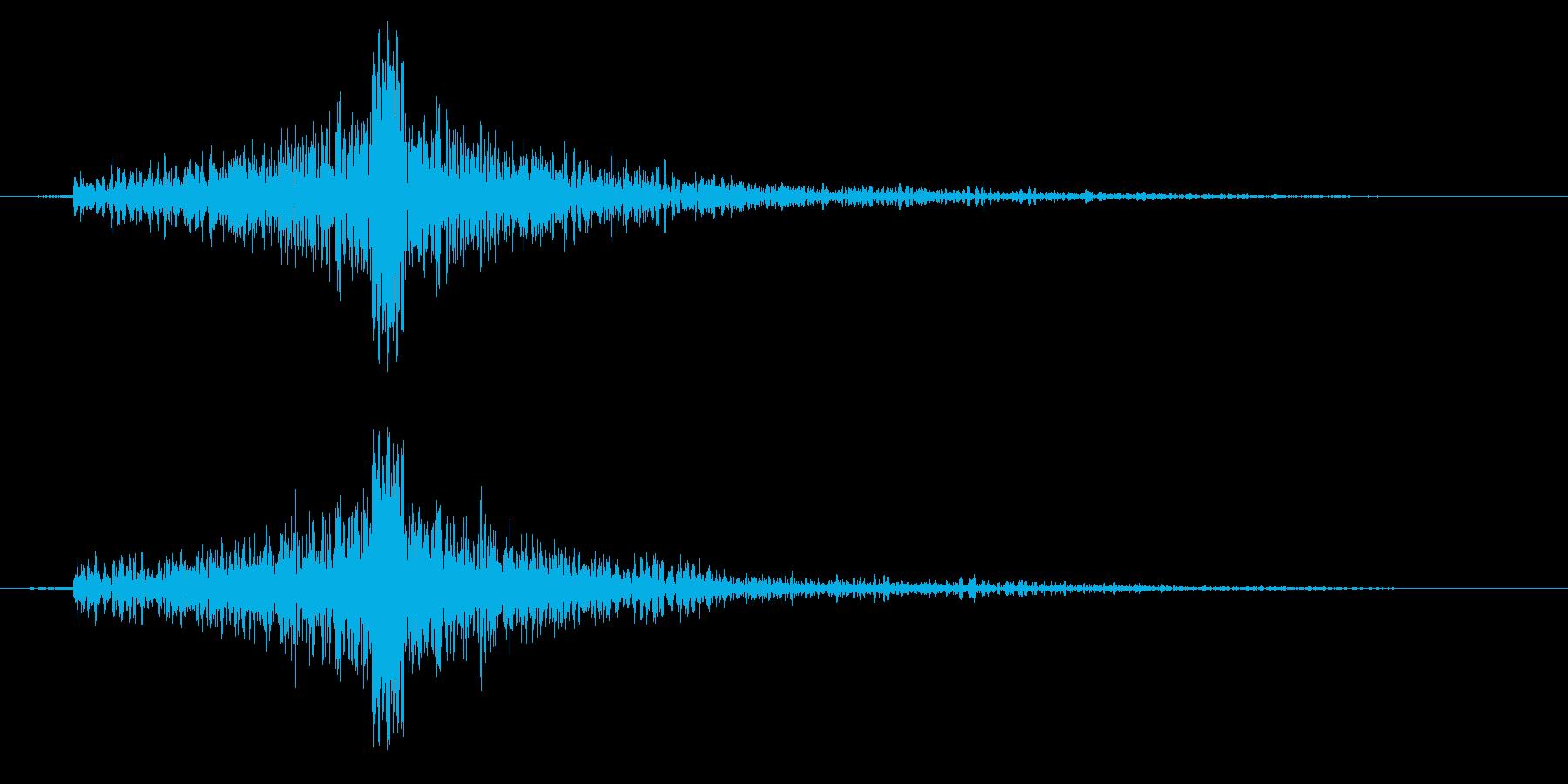 シュバンの再生済みの波形