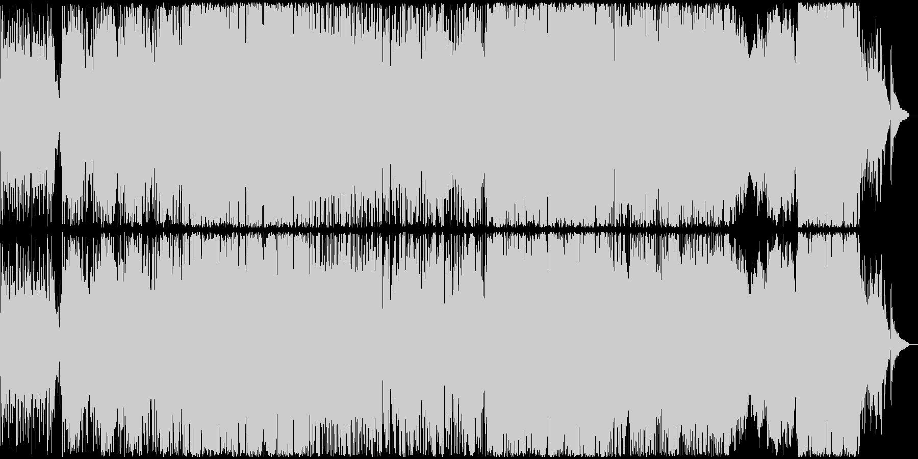 アニメ・ゲーム系スローポップスの未再生の波形