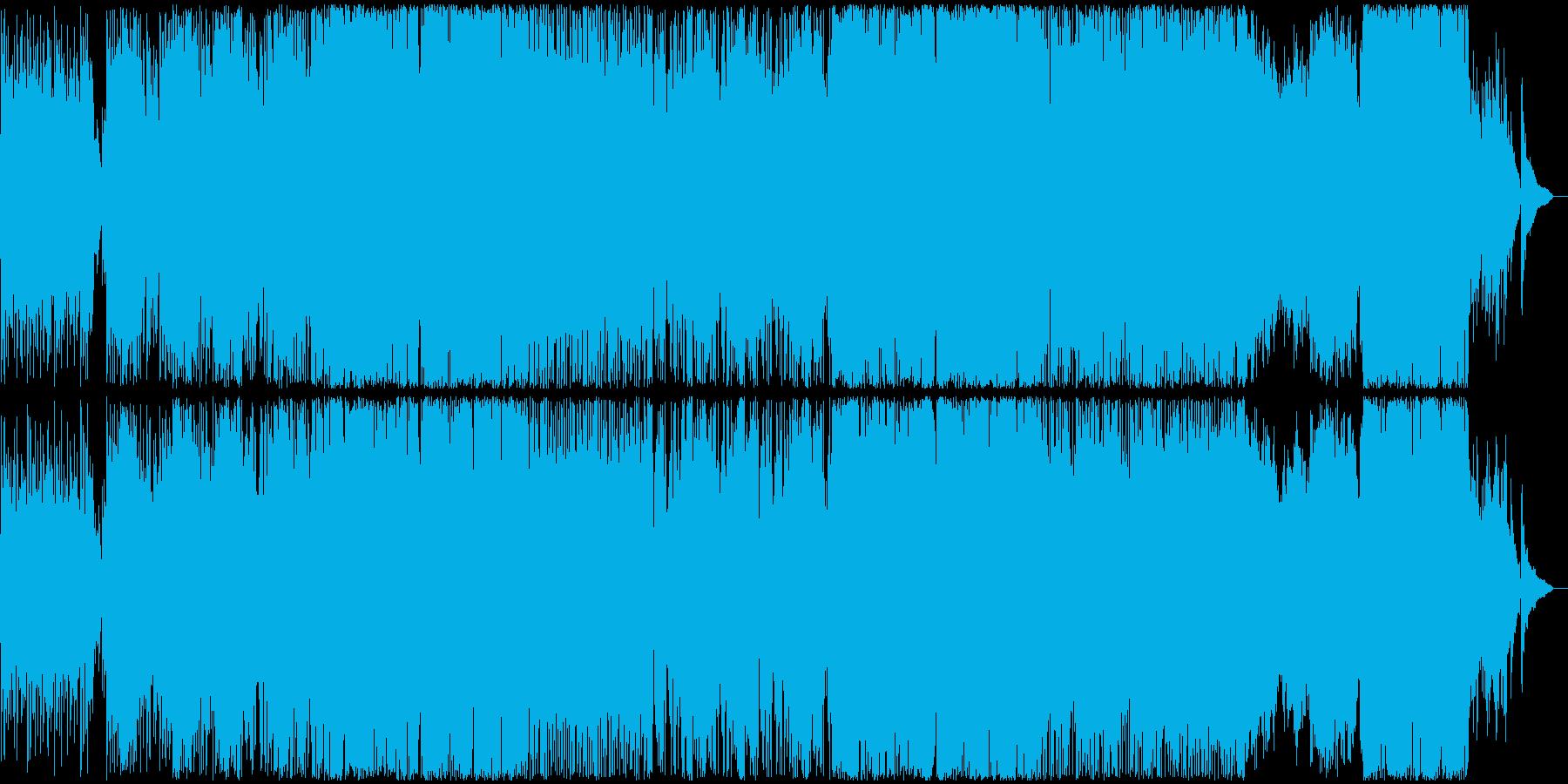 アニメ・ゲーム系スローポップスの再生済みの波形