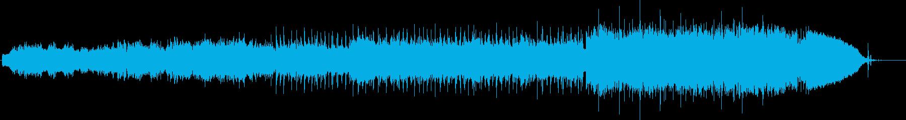 宇宙の始まりをイメージしたインストの再生済みの波形