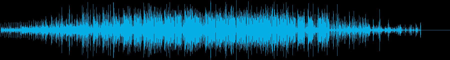 催眠的で熱狂的なエレクトロニカグル...の再生済みの波形
