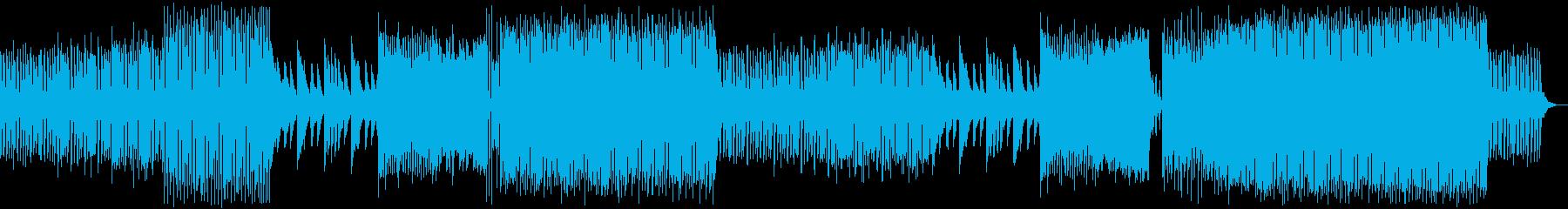 ポップでオシャレなEDMの再生済みの波形