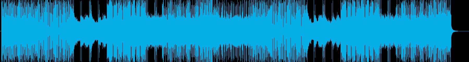 「HR/HM」「POWER」BGM252の再生済みの波形