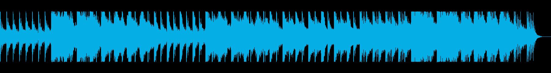 ゆったりしたバラードの再生済みの波形