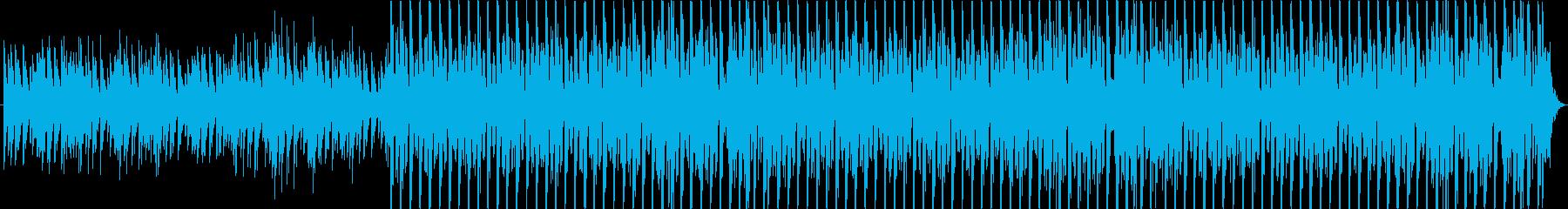 ダンジョンの中を彷徨っている様の再生済みの波形