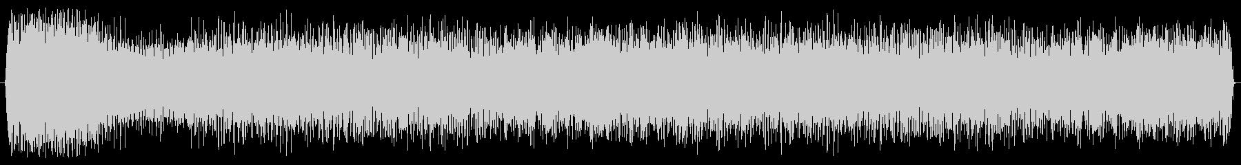 ブースター ヒューシュフライ01の未再生の波形