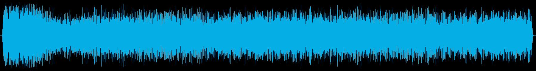 ブースター ヒューシュフライ01の再生済みの波形