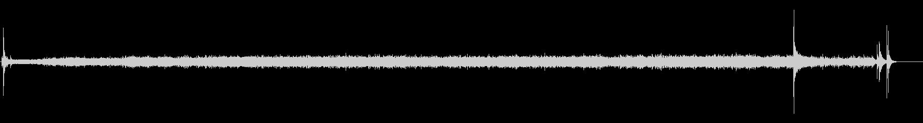 電子レンジ(オン、実行、オフ)の未再生の波形