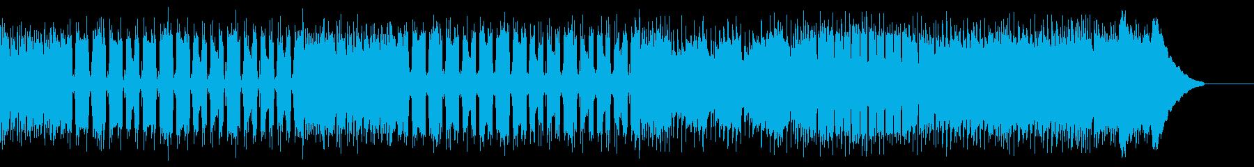 カントリー風マーチングギター01Dの再生済みの波形