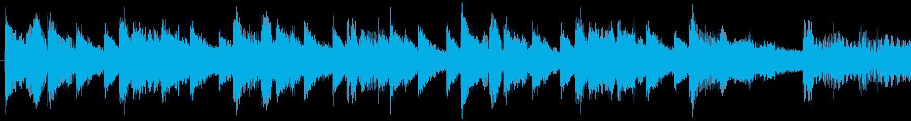 ロマンチックで元気が出るバラード-ループの再生済みの波形