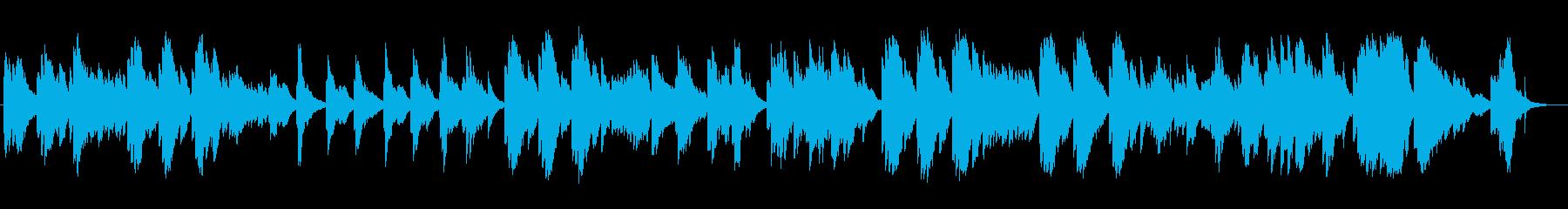子守歌のようなイージーリスニングの再生済みの波形