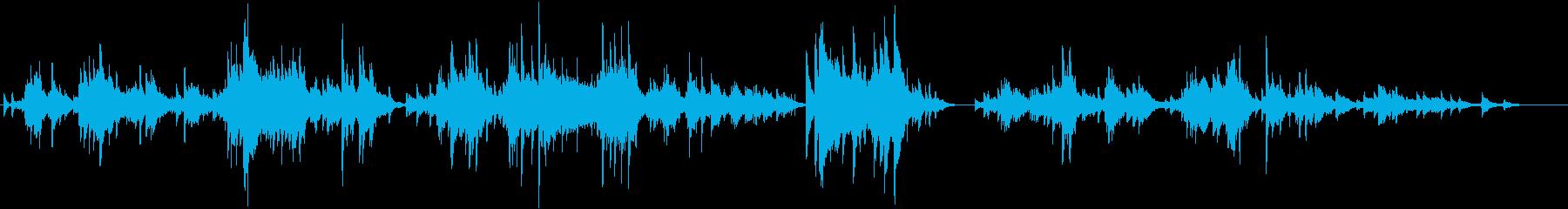 切なく心に染み入る繊細なピアノソロの再生済みの波形