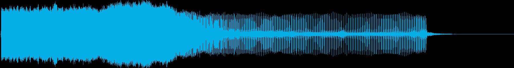 ピィーーーーーーーン(下降)の再生済みの波形