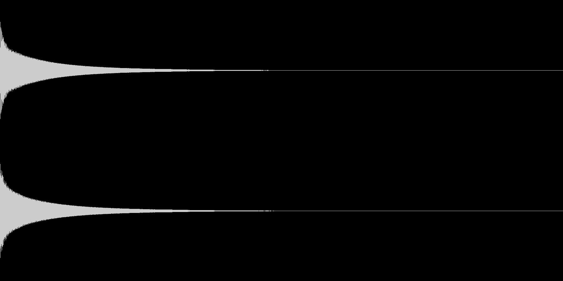 【生録音】カリンバ単音03_F4の未再生の波形