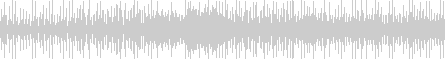 8bit:ホラー:洞窟:ゲーム【ループ】の未再生の波形