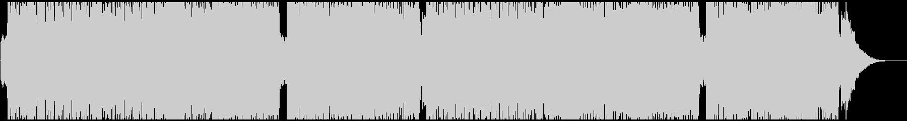 カントリーBGMの未再生の波形