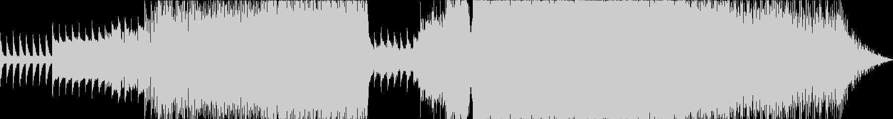 シンバルなしの未再生の波形