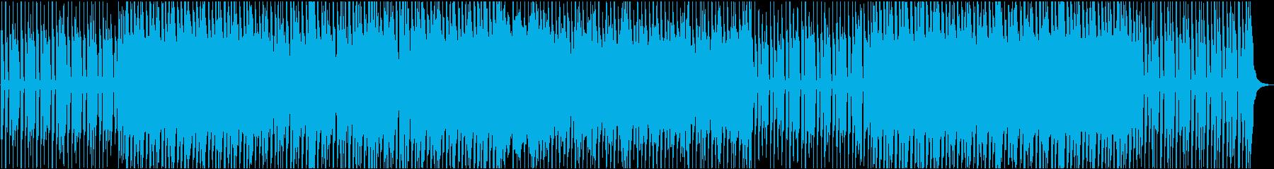00'sロックンロール。楽しげなOP向けの再生済みの波形